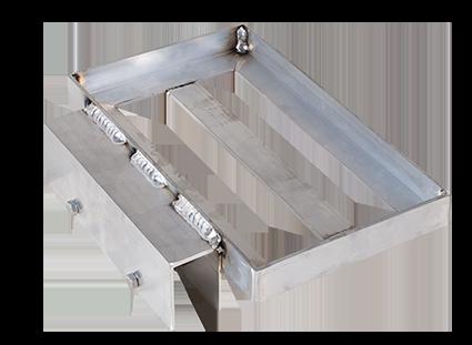 Porta-Dock aluminum battery tray