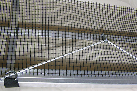 Porta-Dock bird proof netting for boat lifts and canopies