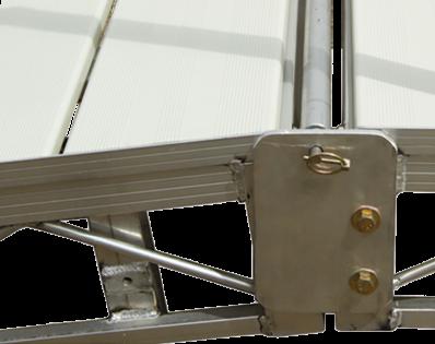 Porta-Dock dock hinge
