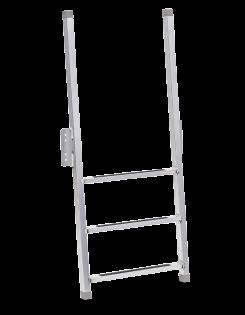 Porta-Dock aluminum dock ladder