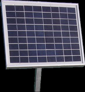Porta-Dock 12 24 Volt Watt solar panel system for boat lifts