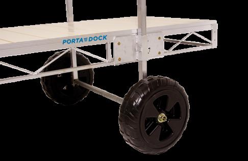 Porta-Dock roll-in dock economy wheel kit