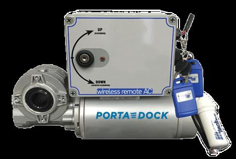 Porta-Dock boat lift motorized winch kit
