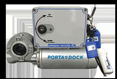 Porta-Dock motorized boat lift winch kit
