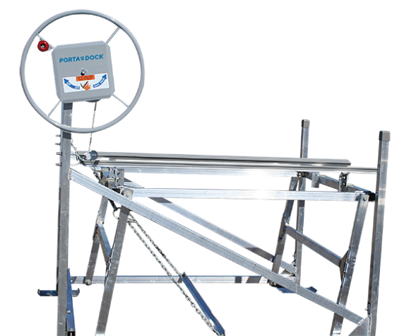 Porta-Dock cantilever personal watercraft lift