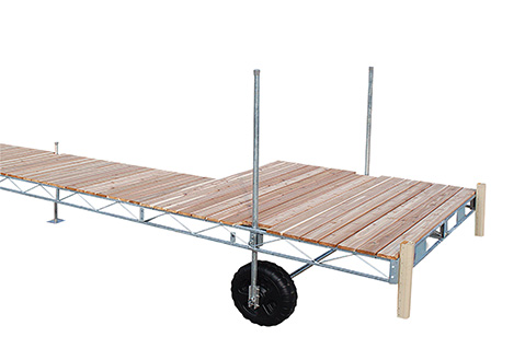 Porta-Dock Galvanized Steel Roll-In dock