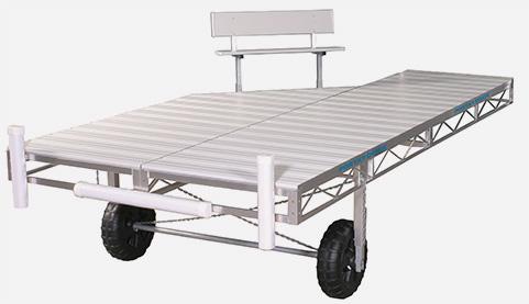 Porta-Dock aluminum roll-in dock