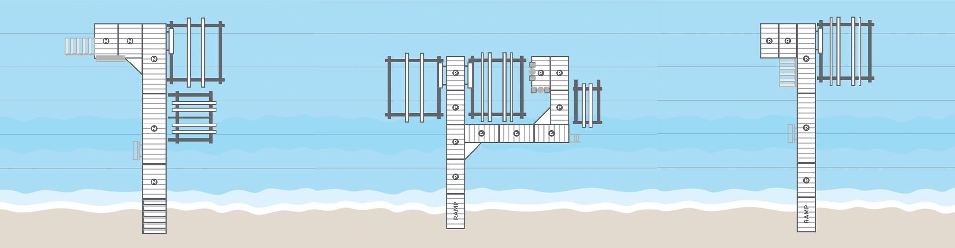 Porta-Dock dock configurator - Dock Layouts