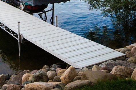 Porta-Dock shore end ramp section