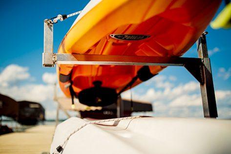 Porta-Dock canoe, kayak & paddle board rack
