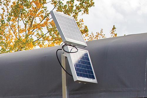 Porta-Dock 12 and 24 volt watt solar panel system